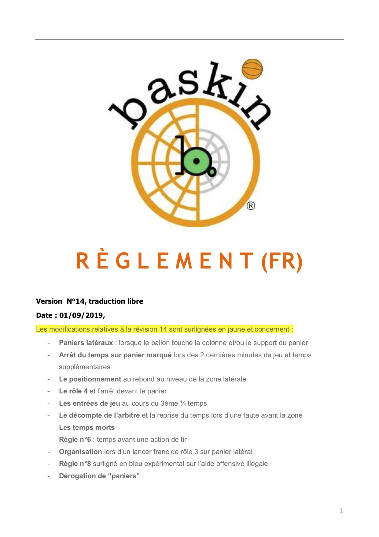 FR REGLEMENT BASKIN 2020 traduction libre